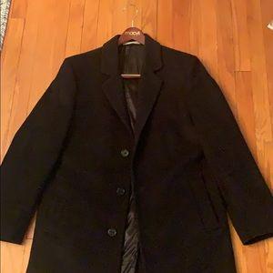 Slim fit Michael Kors wool topcoat.